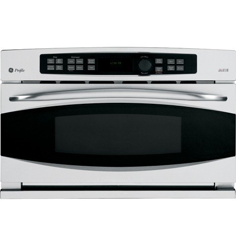 GE Profile : PSB2201NSS 30 Single Electric Advantium Wall Oven, Convection - Stainless Steel