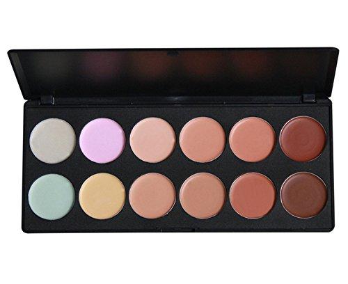 PhantomSky 12 Colori Correttore Cosmetico Camouflage Palette Trucco - Perfetto per l'uso quotidiano e professionale