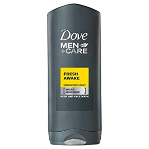 Dove for Men Fresh Awake Body and Face Wash - 400 ml