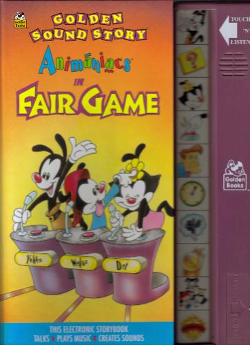 Animaniacs in Fair Game: Fair Game (Golden Sound Story): Sidelines
