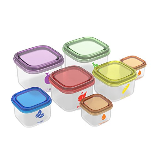 Smart Diet Control 7-Piece Leak-Proof Microwave and