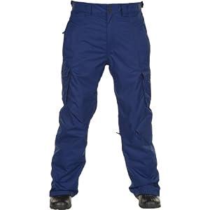 O'Neill Escape Exalt Mens Snow Ski Pants, Atlantic Blue - X-Large