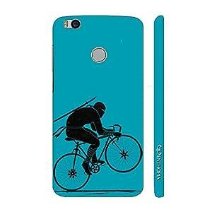 Enthopia Designer Hardshell Case Ninja Rides Blue Back Cover for Xiaomi Mi 4s