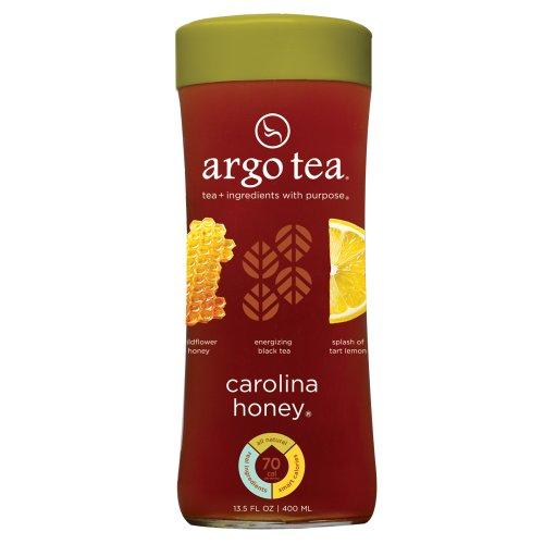 argo tea carolina honey bottled tea case of 12. Black Bedroom Furniture Sets. Home Design Ideas