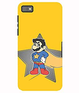 Astrode Super Mario Back Case For Blackberry Z10