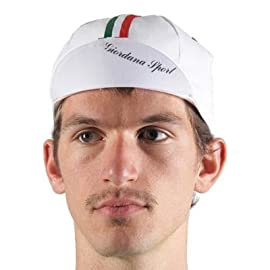 Giordana 2013 Sport Cotton Cycling Cap - GS-S2-COCA-GSPT
