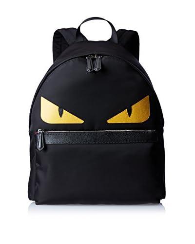 Fendi Men's Monster Nylon Backpack, Black