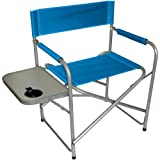415xcjN6PPL. SL160  Texsport Steel Directors Chair with Table (Blue, 31.87 Inch X 19.28 Inch X 31.81 Inch)