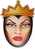 Disney Halloween The Wicked Queen (Snow White) - Card Face Mask - Licensed Pr...
