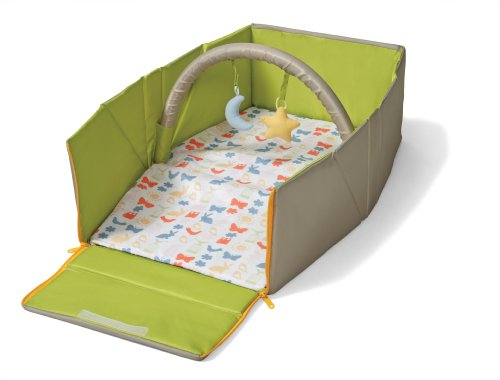 Best Buy! Infantino Napnest Easy Fold Travel Bed