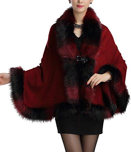 helan-womens-warm-luxury-style-faux-fur-cloak-cape-coat-wine-red