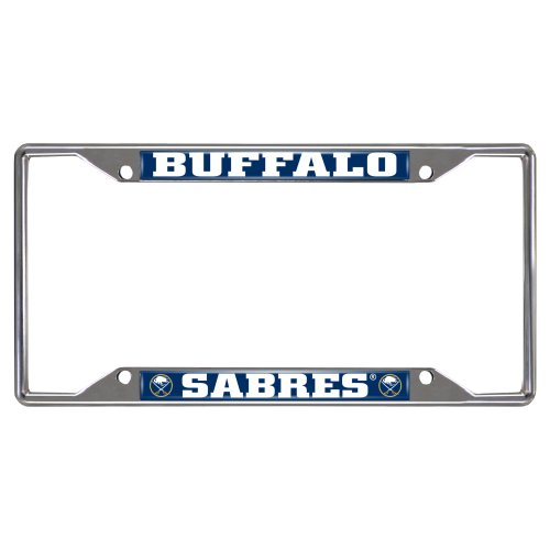 FANMATS NHL Buffalo Sabres Chrome License Plate Frame (License Plate Frame Buffalo compare prices)