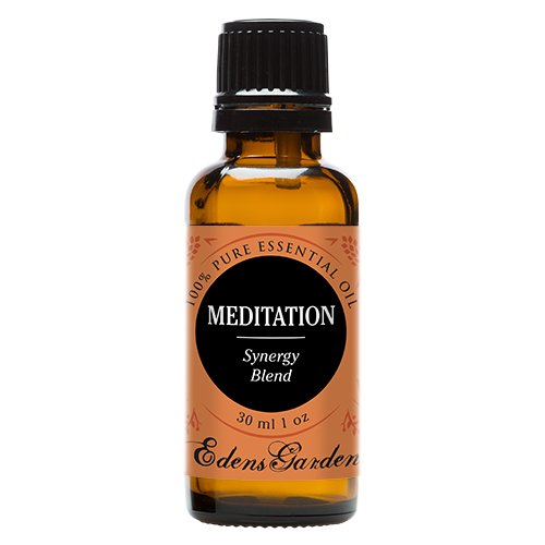 Meditation Synergy Blend Essential Oil by Edens Garden (Ylang Ylang, Patchouli, Frankincense, Clary Sage, Sweet Orange & Thyme)- 30 ml