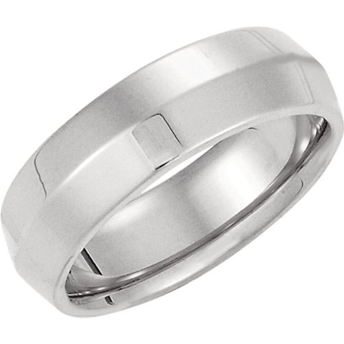 Jewelplus Knife Edge Comfort Fit Wedding Band - Size 11.5, 2.5Mm And 6Mm 10K Yellow 06.00 Mm