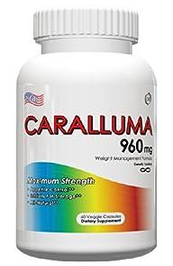 Caralluma Fimbriata – Appetite Suppression Supplement, Helps Decrease Salt Cravings, 960mg, 60…
