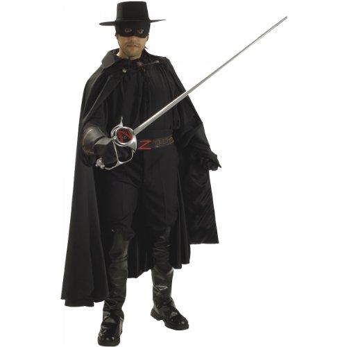 Zorro Grand Heritage Xlg Adult Halloween Costume
