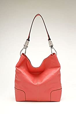 Tosca Classic Shoulder Handbag (Light Red)