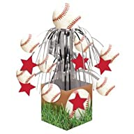 Baseball Fanatic Centerpiece Party De…