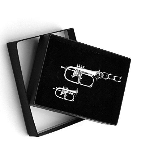 Flgelhorn-Schlsselanhnger-und-Abzeichen-Set-in-Geschenk-Box-Flgelhorn-Spieler-Geschenk-Weihnachten-Geschenk-fur-Musiker