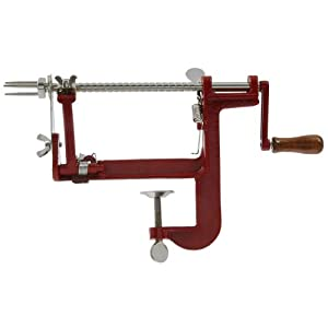 VICTORIO VKP1011 Apple and Potato Peeler, Clamp Base