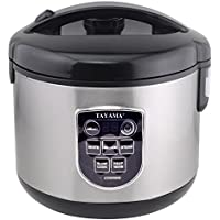 Tayama TRC-80 8-Cup Digital Rice Cooker and Food Steamer