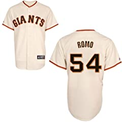 Sergio Romo San Francisco Giants Home Replica Jersey by Majestic Select Size:... by Majestic