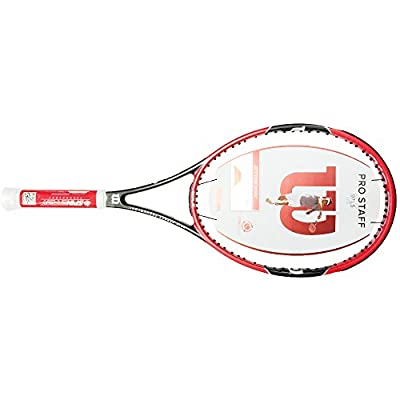 Wilson Pro Staff 97LS Tennis Racquet (Red)
