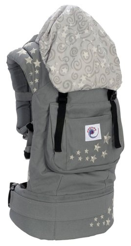 ERGO Baby Carrier - Galaxy Grey Embroidered / Galaxy Lining