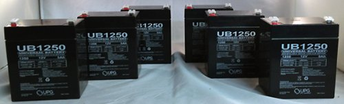 New Casil Ca1240 12V 4Ah First Alert Adt Alarm System Upgrade Battery - 6 Pack