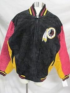 G-III Washington Redskins Mens X-Large Full Zip Soft Leather Jacket PAMZ 303 602 by G-III Sports