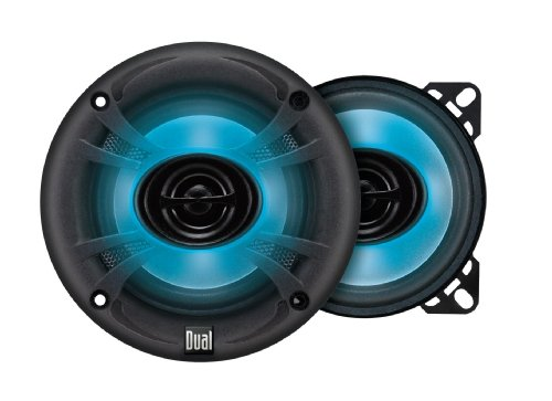 Dual Ts45 4-Inch 120 Watt 2-Way Illuminite Speakers