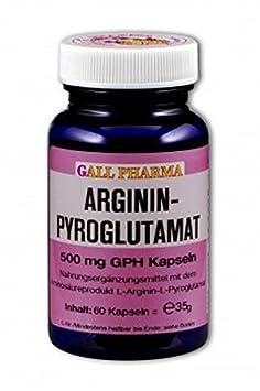 Gall Pharma Argininpyroglutamat 500 mg GPH Kapseln 60 Stuck
