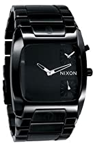 Nixon Banks Leather All Black