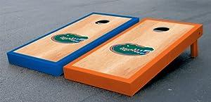 Florida UF Gators Cornhole Game Set Hardcourt Birch Gator Version Corn Hole by Gameday Cornhole