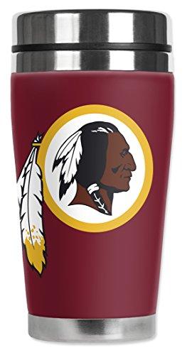 Nfl - Washington Redskins - Mugzie® Brand 16-Ounce Travel Mug With Insulated Wetsuit Cover
