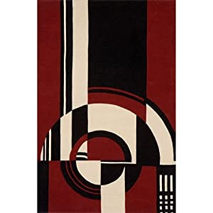 Momeni Delhi Collection Wool Black Area Rugs - Bed Bath & Beyond