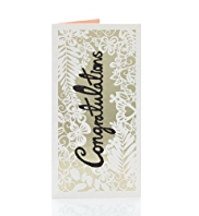 Congratulations Wedding Money Wallet Card