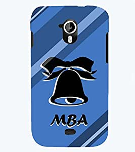 printtech Mba Back Case Cover for Micromax Canvas HD A116::Micromax Canvas HD Plus A116Q