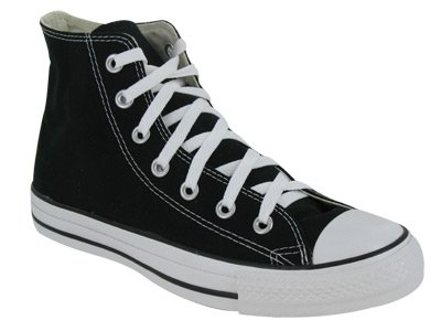 Converse Men's CONVERSE CHUCK TAYLOR ALL STAR HIGH 9.5 (BLACK)