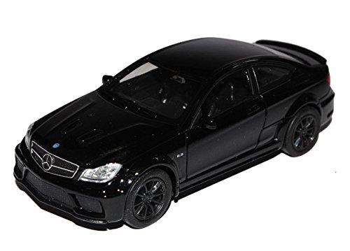 mercedes-benz-c-klasse-c63-amg-coupe-c204-schwarz-2011-2015-ca-1-43-1-36-1-46-welly-modell-auto-mit-