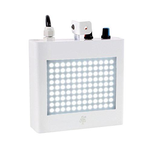 tsss xl101 sound activated 108 white leds strobe light speed. Black Bedroom Furniture Sets. Home Design Ideas