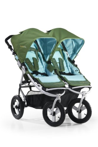 Bumbleride Indie Twin Stroller, Seagrass (Discontinued by Manufacturer)