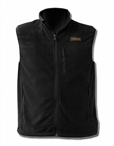 Volt Heated Fleece Vest, Black, Large