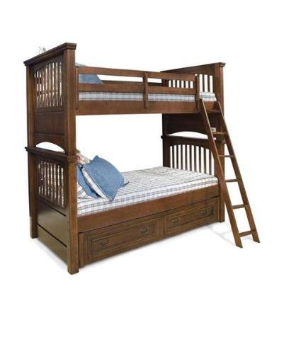 Cheap 493 Cambridge Court Twin Bunk Bed Bedroom Set by Legacy Classic Kids (B0030NGN64)