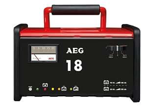 AEG 97010 Werkstatt-Ladegerät WM 18 Ampere für 12 und 24 V Batterien, CE, IP 20