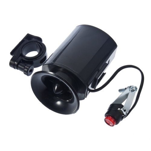 Meco(Tm) Electronic Bicycle Bike Ultra-Loud Bell 6 Sounds Horn Alarm Speaker