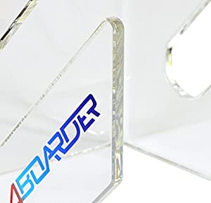 DOUBLE Wandhalter Wandhalterung Board Rack für Wakeboard, Kiteboard, Snowboard, Longboard, Skateboard, Wakeskate, Skimboard