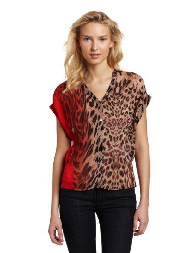 Yoana Baraschi Women's Rouge Leopard Blouse