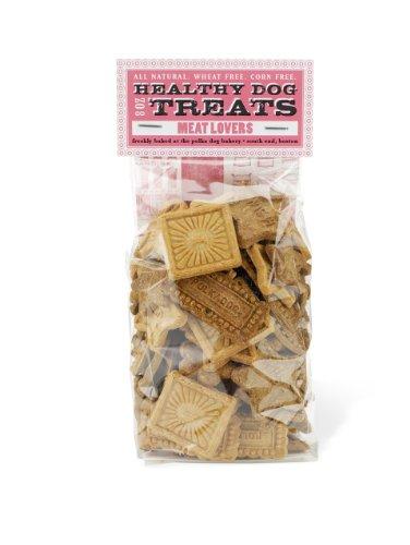 Polka Dog Bakery Meat Lovers Cello Bag, Wheat-Free, Corn-Free, Soy-Free Dog Treats, 8oz