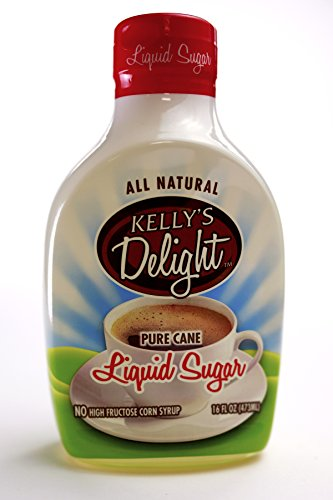 Kelly'S Delight, All Natural Pure Can Liquid Sugar, 16Oz Bottle (Pack Of 4)